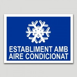 Establiment amb aire condicionat