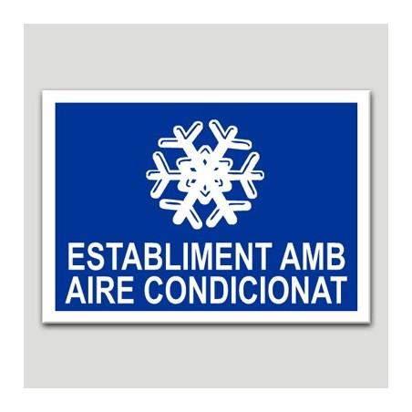 Establecimiento con aire acondicionado