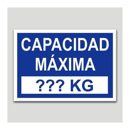 Capacidad máxima
