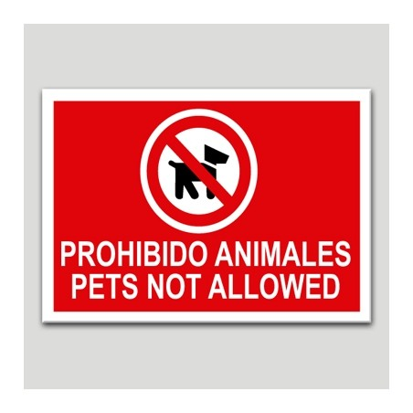 Prohibit animals-Pets not allowed