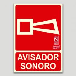 Avisador sonoro (en español)