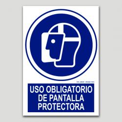 Ús obligatori de pantalla protectora