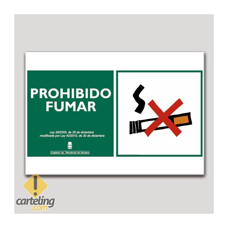 Prohibido fumar - Asturias