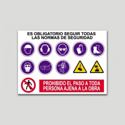 Cartell normes de seguretat