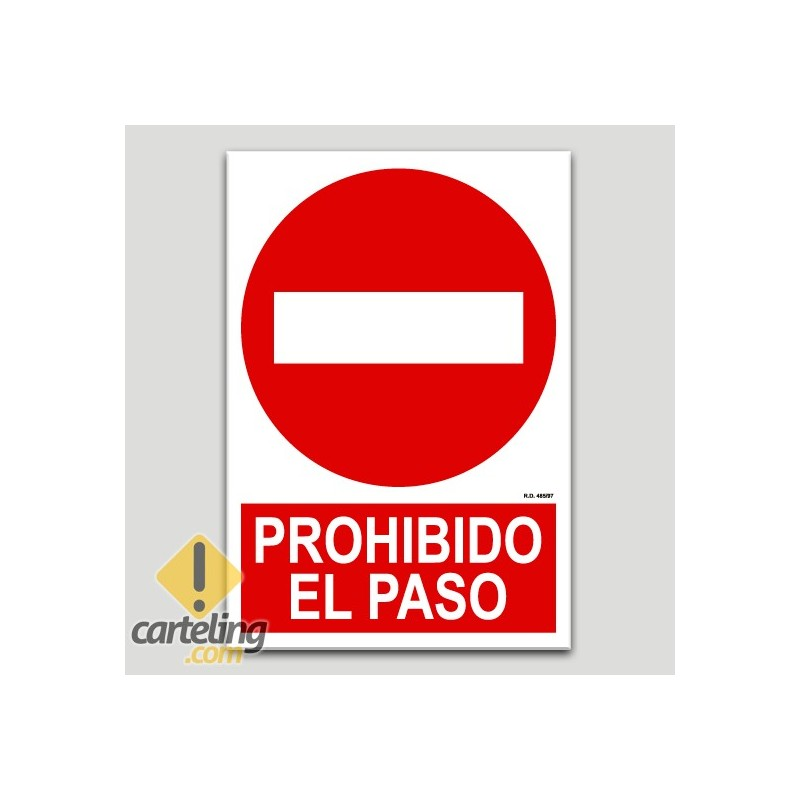 Prohibit el pas