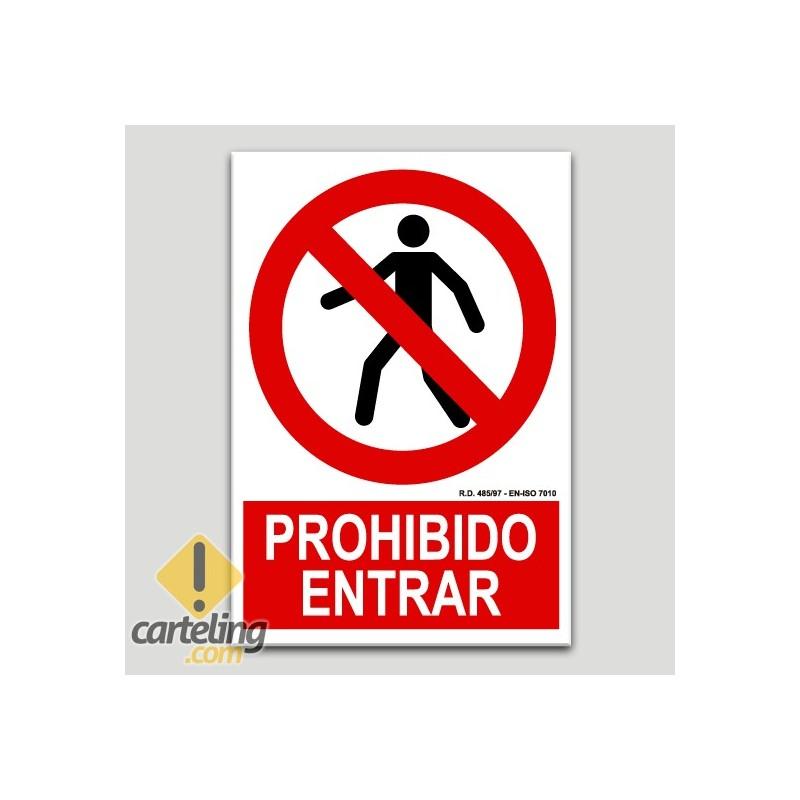 Prohibido entrar