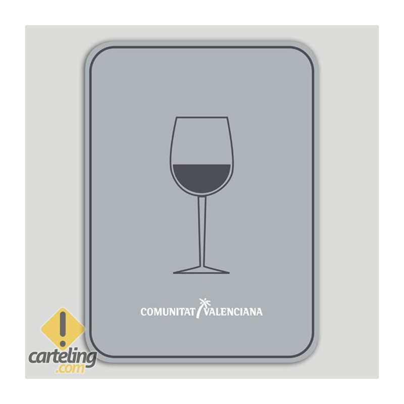 Placa distintiu Bar - Comunitat Valenciana
