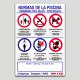 Cartell de normes de piscina personalizable