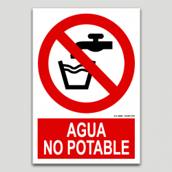 Aigua no potable