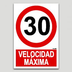 Velocidad máxima 30