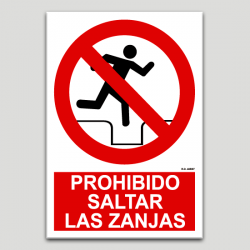 Prohibit saltar les rases