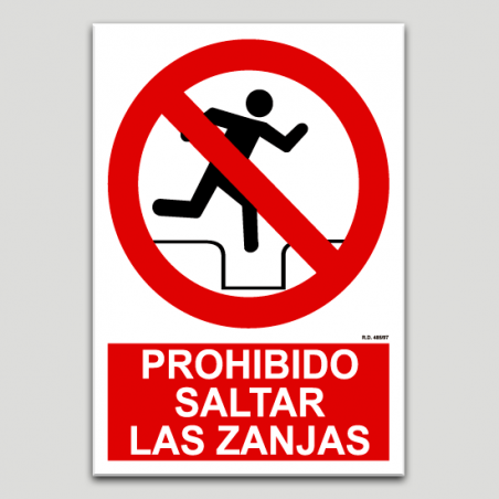 Prohibit saltar les rases