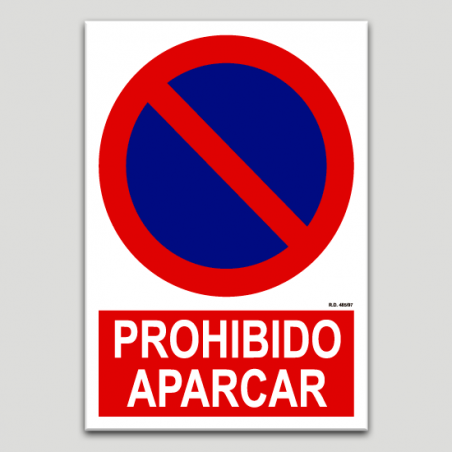 Prohibit aparcar