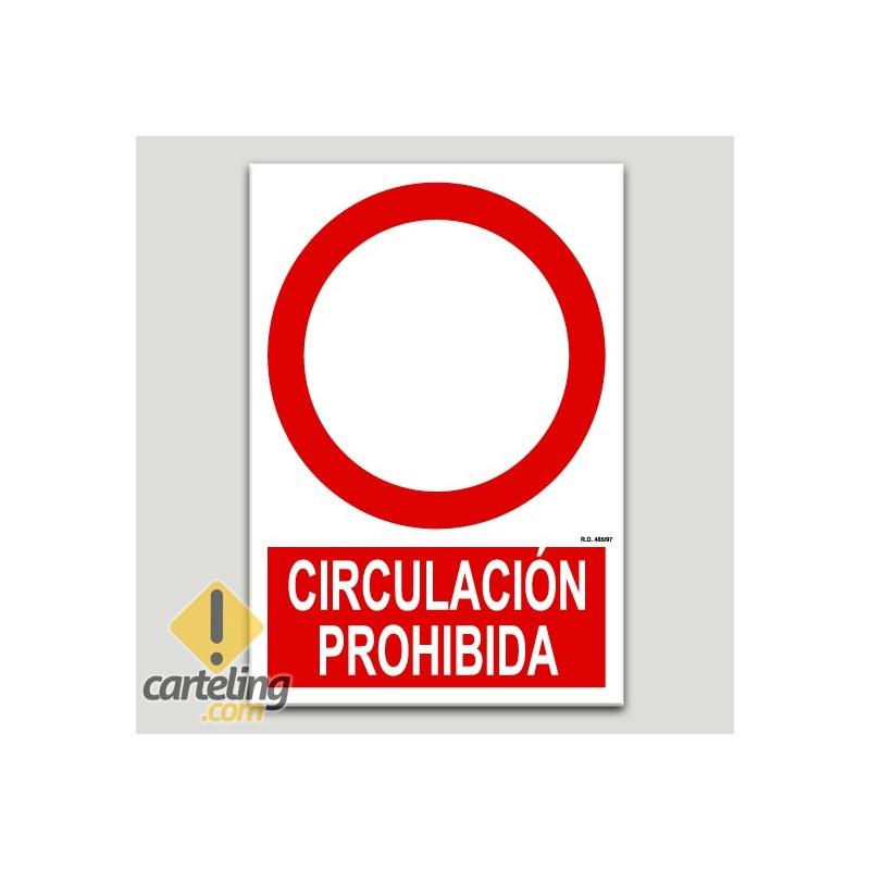 Circulació prohibida