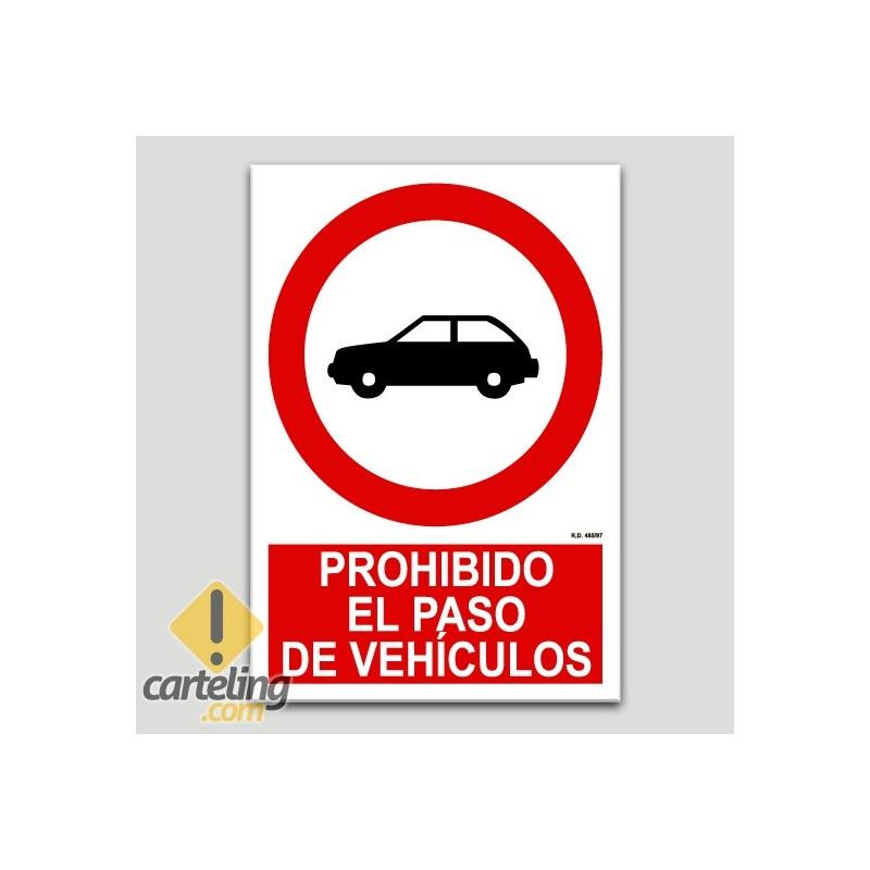 Prohibit el pas de vehicles