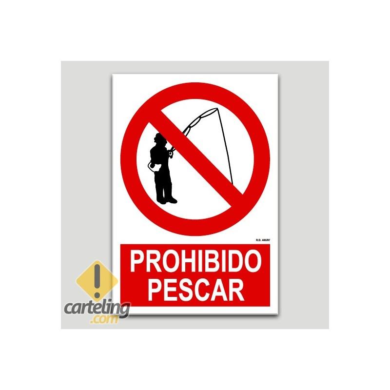Prohibido pescar