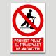 Prohibit pujar el transpalet de magatzem