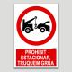 Prohibit estacionar, truquem grua