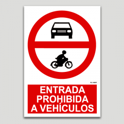 Entrada prohibida a vehicles