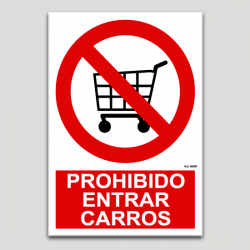 Prohibit entrar carros