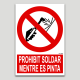 Prohibit soldar mentre es pinta