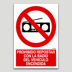 Prohibit repost amb la ràdio del vehicle encendida