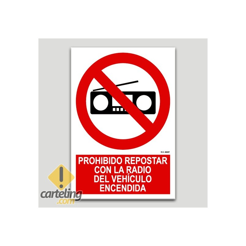 Prohibit repost amb la ràdio del vehicle encendida
