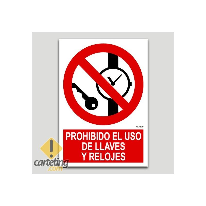 Prohibit l'ús de cadenes i rellotges