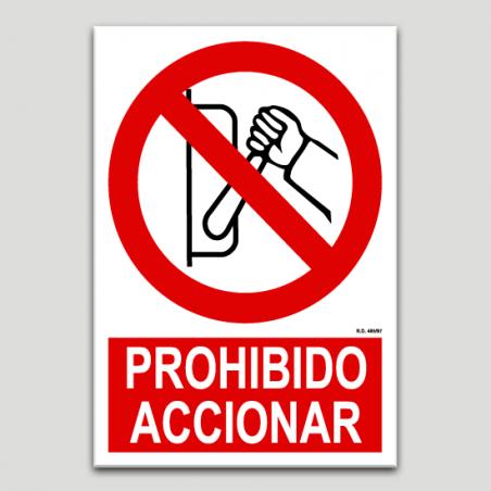 Prohibit accionar