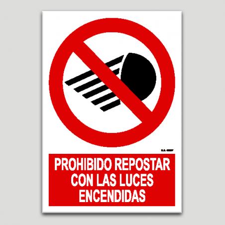 Prohibido repostar con las luces encendidas