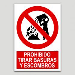 Prohibit llençar escombraries i enderrocs