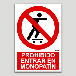 Prohibit entrar a monopatí