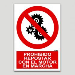 Prohibit repostar amb el motor en martxa