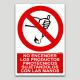 No encender los productos piroténicos sujetándolos con las manos