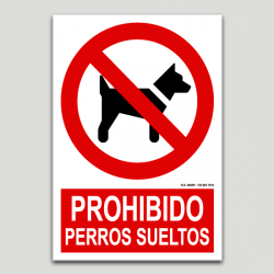 Prohibit gossos solts