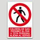 Caldera de gas, prohibit el pas a tota persona aliena al servei