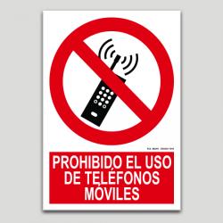 Prohibit l'ús de telèfons mòbils