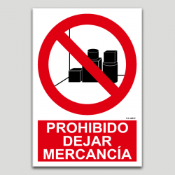 Prohibit deixar mercaderia