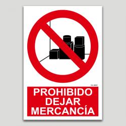 Prohibit deixar mercaderia