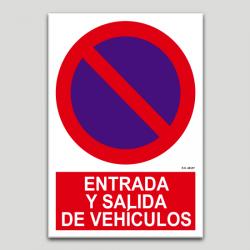 Entrada y salida de vehiculos