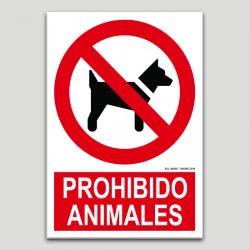 Prohibido animales