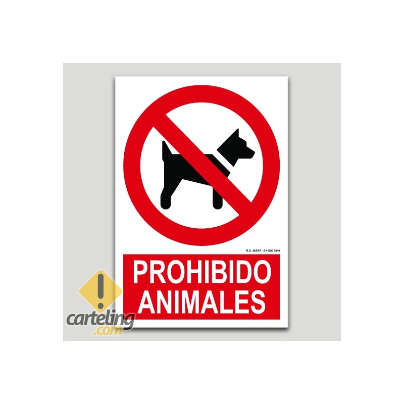 Prohibit animals
