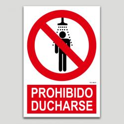 Prohibido ducharse