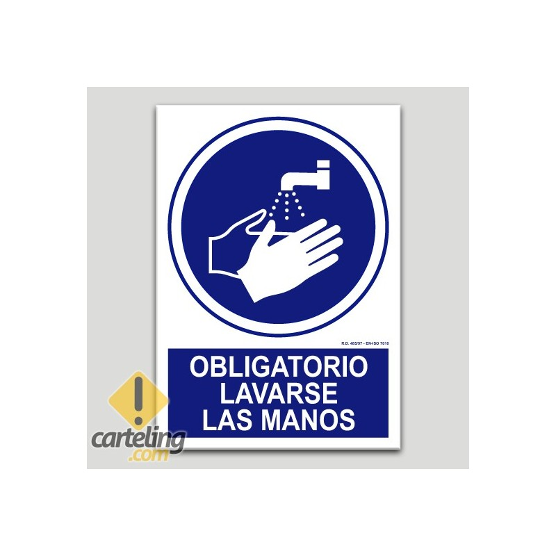 Obligatori rentar-se les mans