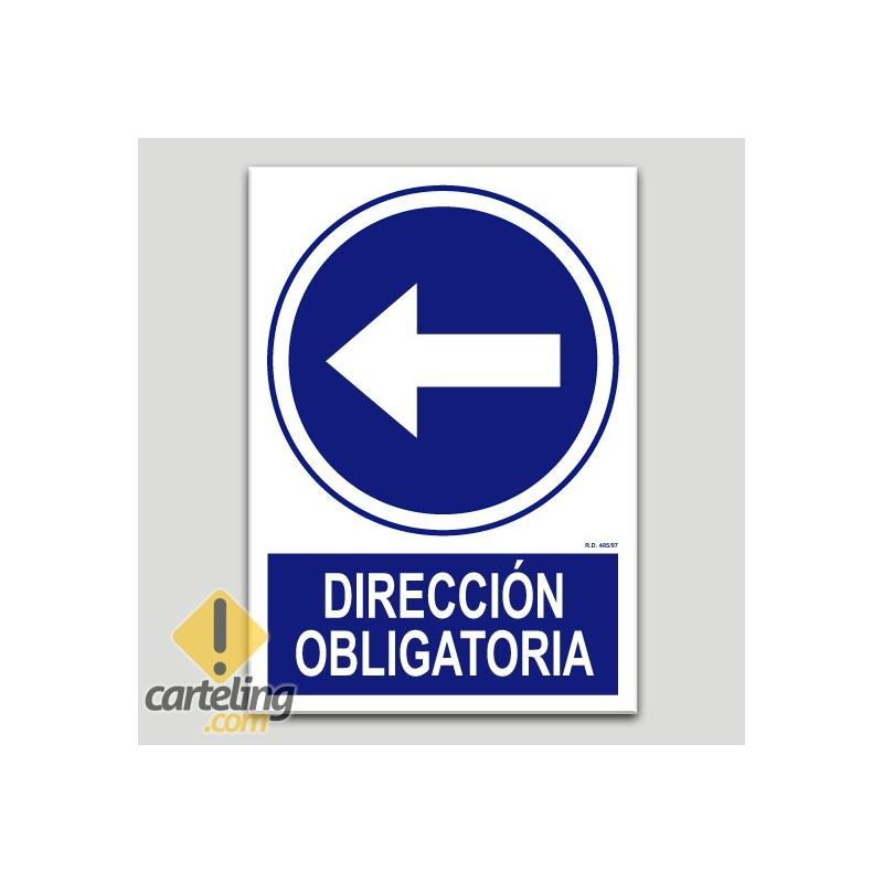 Direcció obligatòria esquerra
