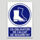 Ús obligatori de calçat de seguretat