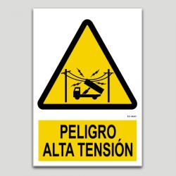 Peligro alta tensión