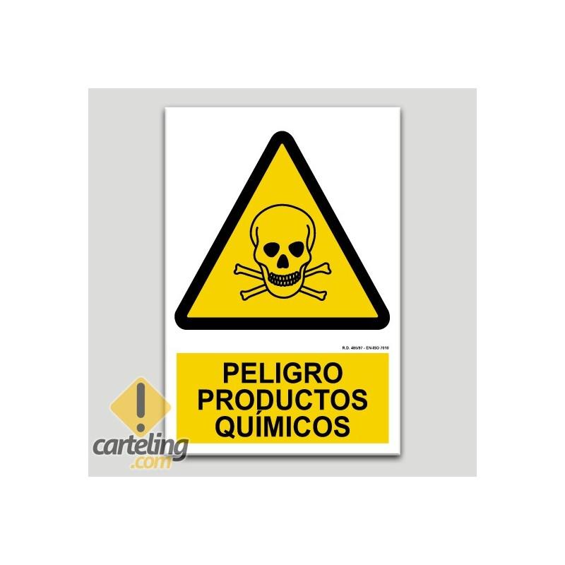 Peligro productos químicos