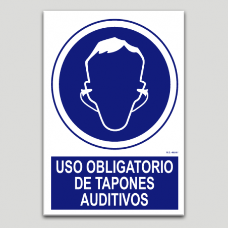 Uso obligatorio de tapones auditivos