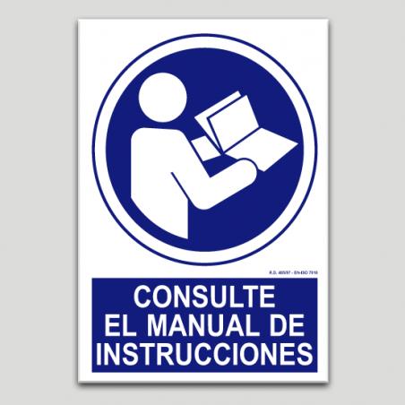 Consulte el manual de instrucciones